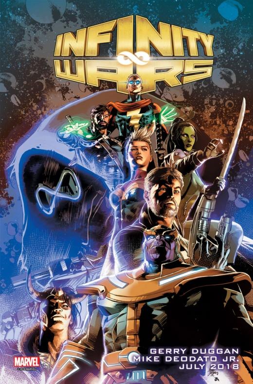 Infinity Wars portada