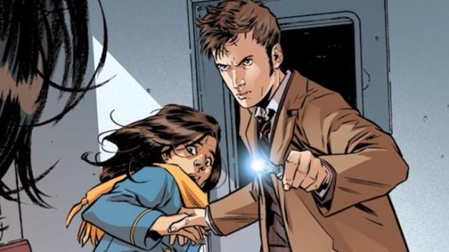 La nueva acompañante del Doctor