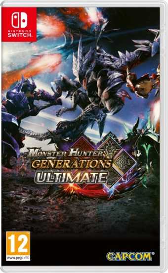 Monster Hunter Generations Ultimate carátula