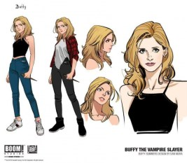 Buffy Boom Comics