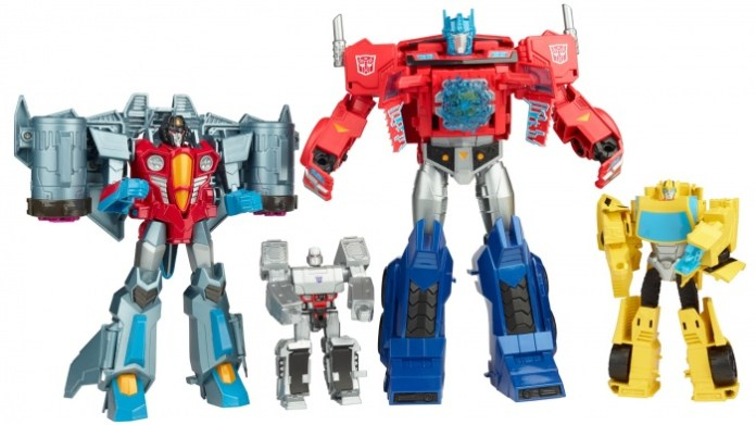 Transformers Cyberverse Toys