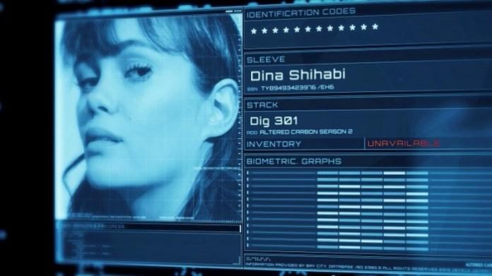 Altered Carbon temporada 2 - Dina Shihabi - DIG 301