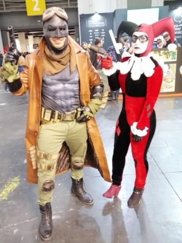 37 Comic Barcelona Ficomic cosplay Batman Harley