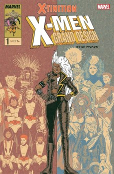 X-Men: Grand Design - X-Tinction portada