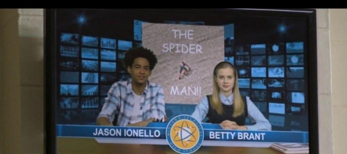 Jason Ionello y Betty Brant
