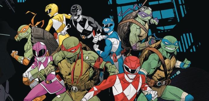 Power Rangers y Tortugas Ninja