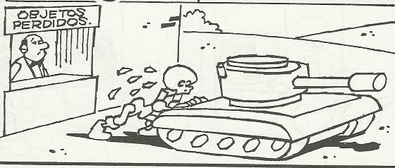tumbita tanque