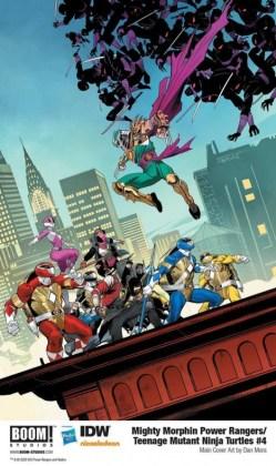mighty morphin power rangers teenage mutant ninja turtles 4 main 1209801