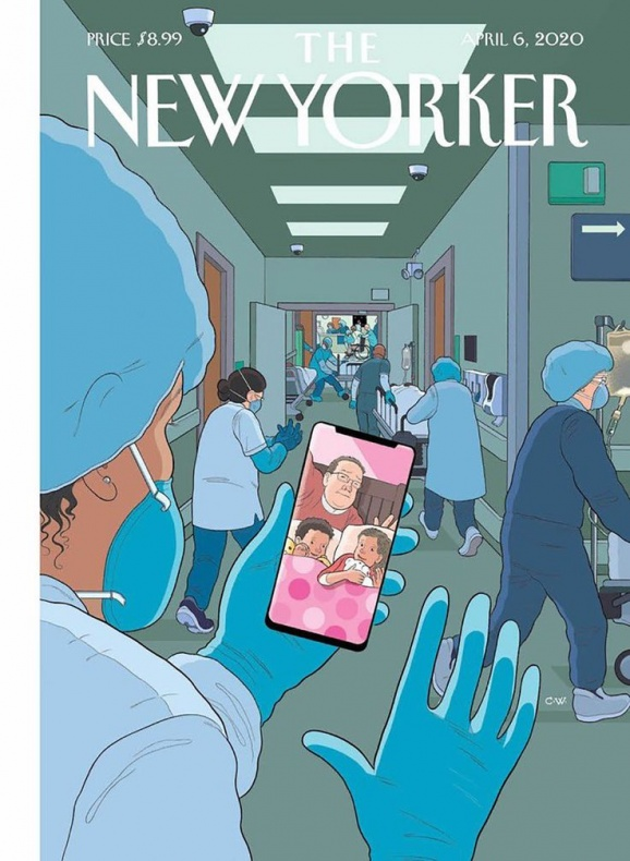 new yorker cover chris ware 1
