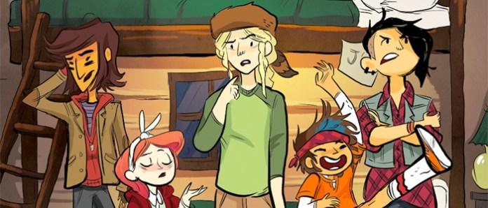 lumberjanes comic cabin