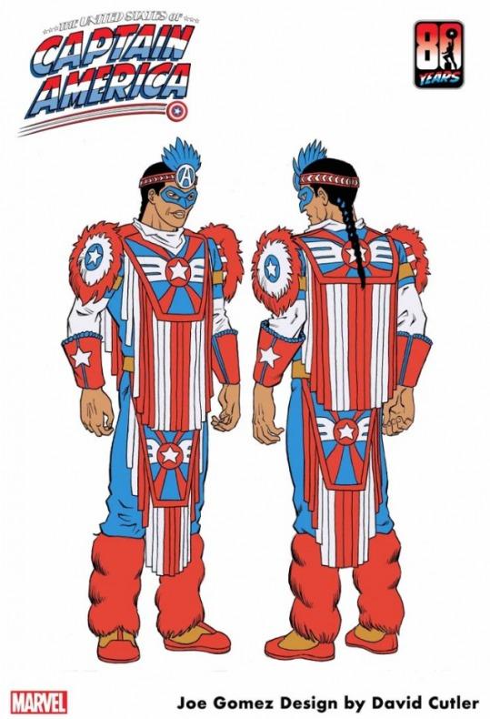 Capitán América - Joe Gomez - Kikapú - Marvel ComicsAC