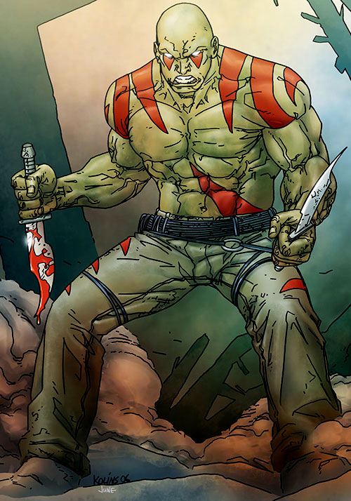 Drax the Destroyer Marvel Comics Guardians of the Galaxy d
