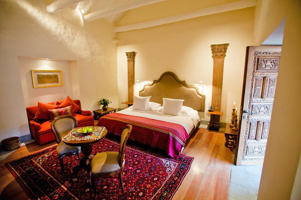 inkaterra cusco hotel room