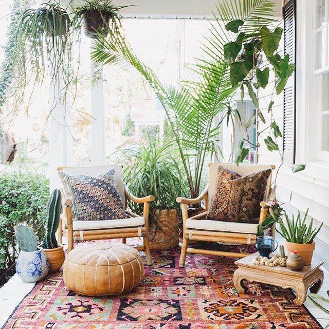 cozy balcony terrace summer 1
