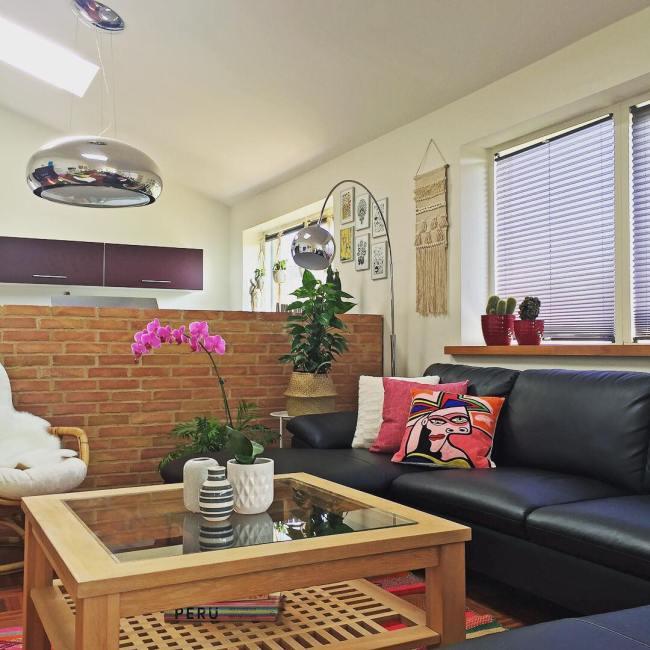 living room peruvian rug_la casa de freja 1