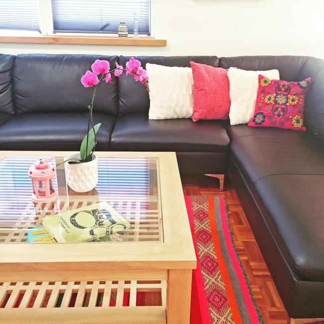 living room peruvian rug _la casa de freja 3