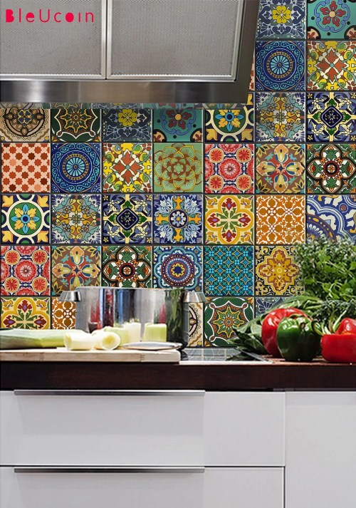 transform your kitchen with boho tiles 3