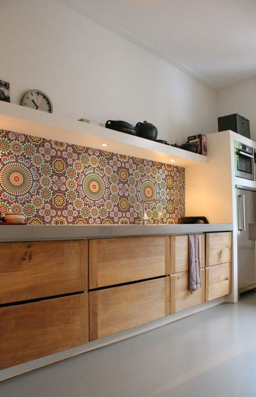 transform your kitchen with boho tiles 4