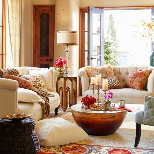 Tips to have a fall living room decor 01
