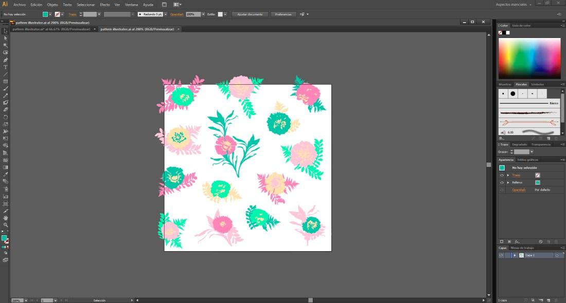 pattern illustrator 0