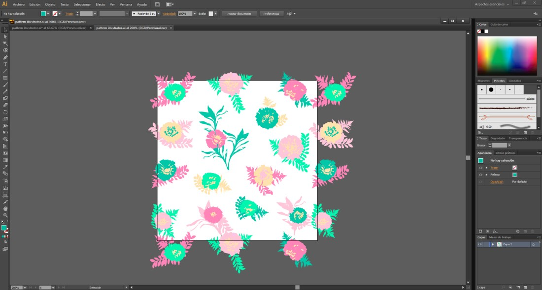pattern illustrator 1
