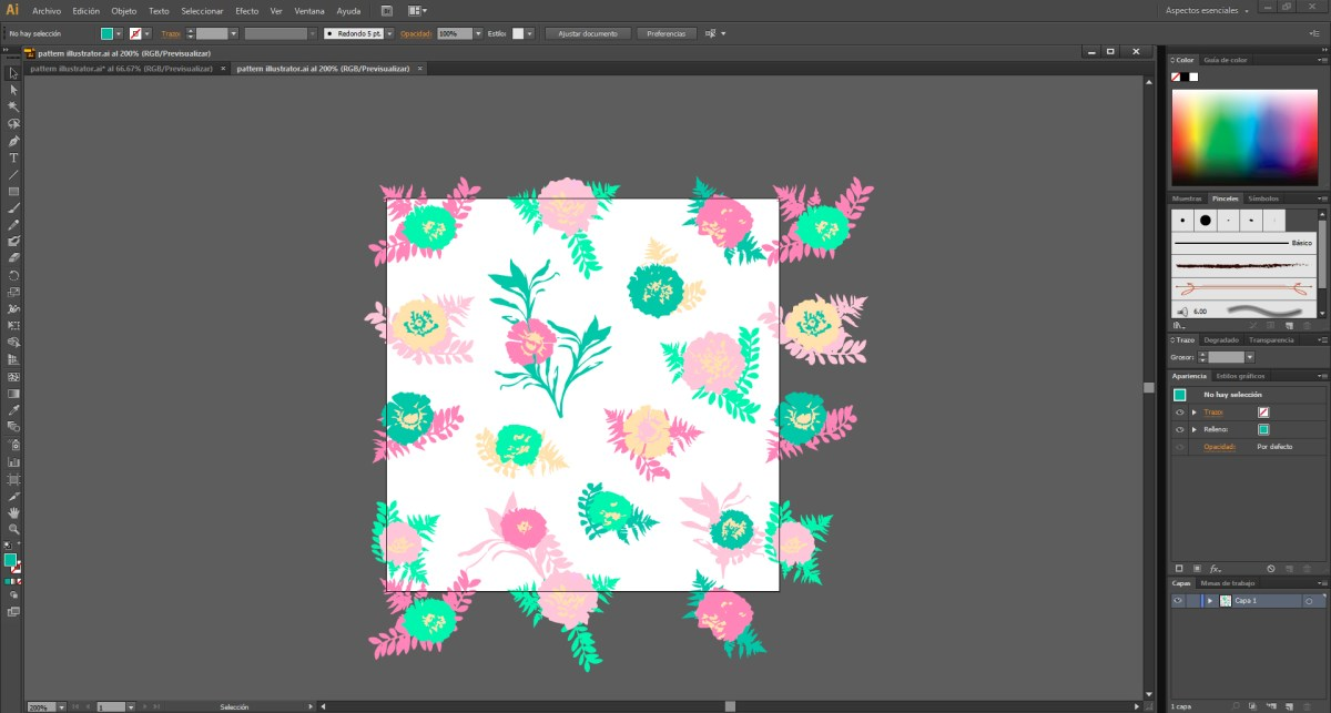 pattern illustrator 1