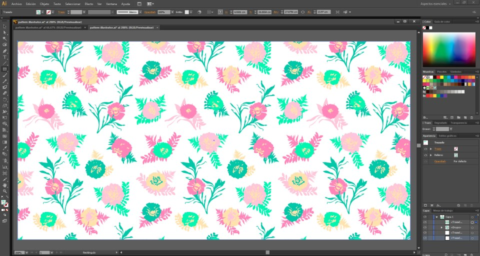 pattern illustrator 3