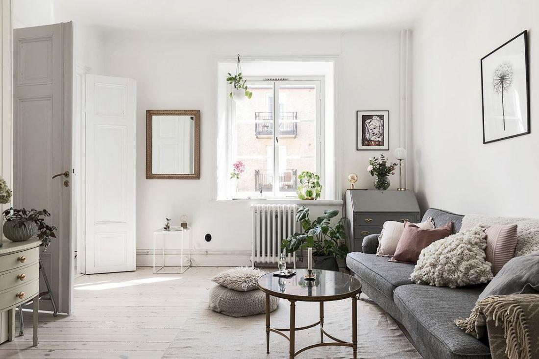 Romantic Scandinavian apartment 01