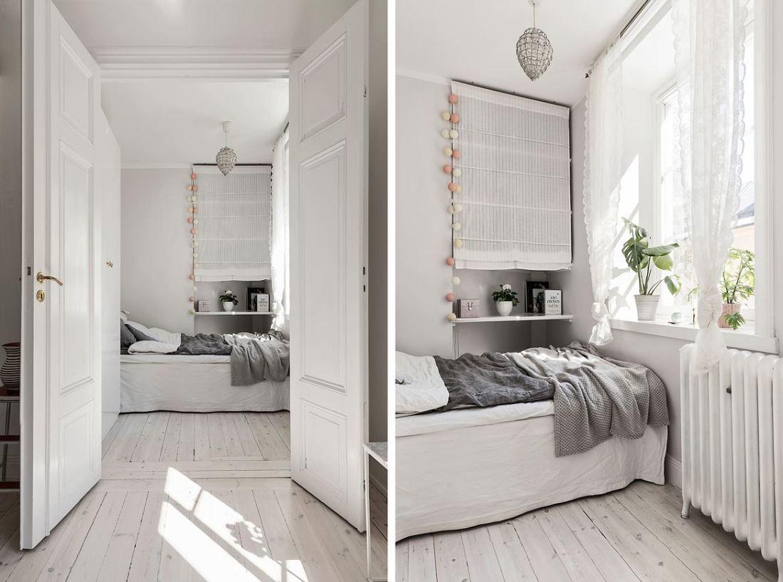 Romantic Scandinavian apartment 10