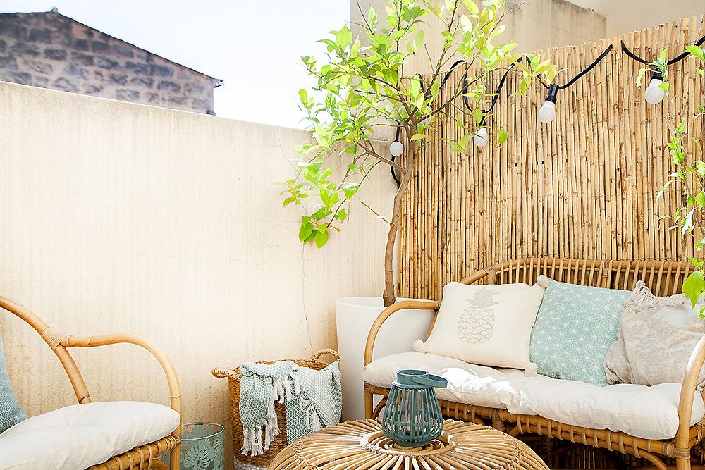 scandi boho apartment in Mallorca 03
