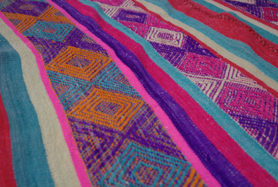 Peruvian frazadas traditional ethnic textiles for home 01