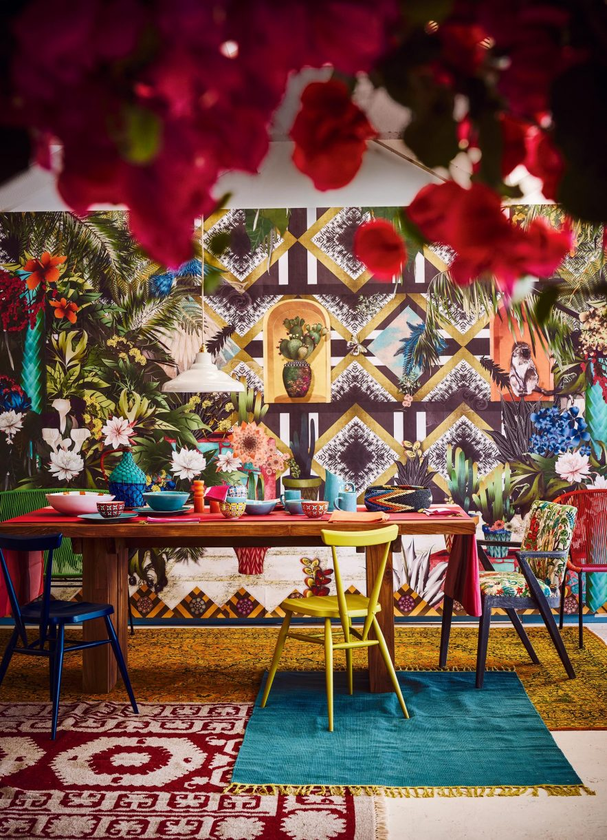 Frida Kahlo Inspiration board and a collage idea 11
