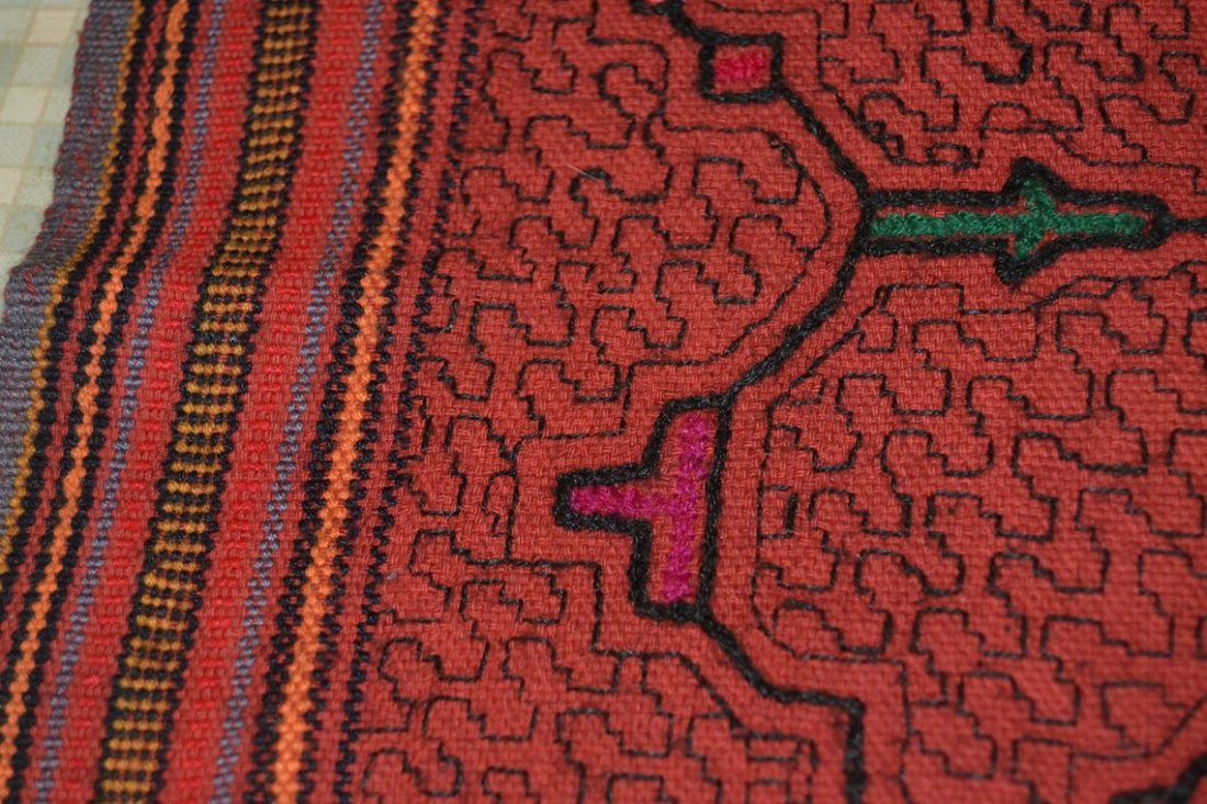 Kené art Tradition and design from the jungle of Peru 06