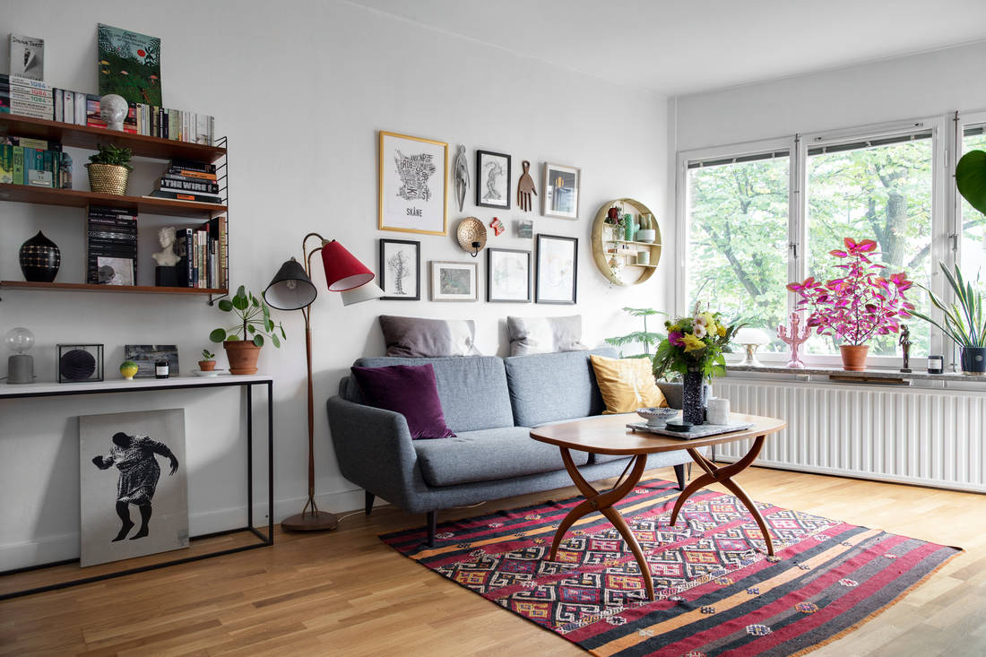 colorful rug decor apartment 02