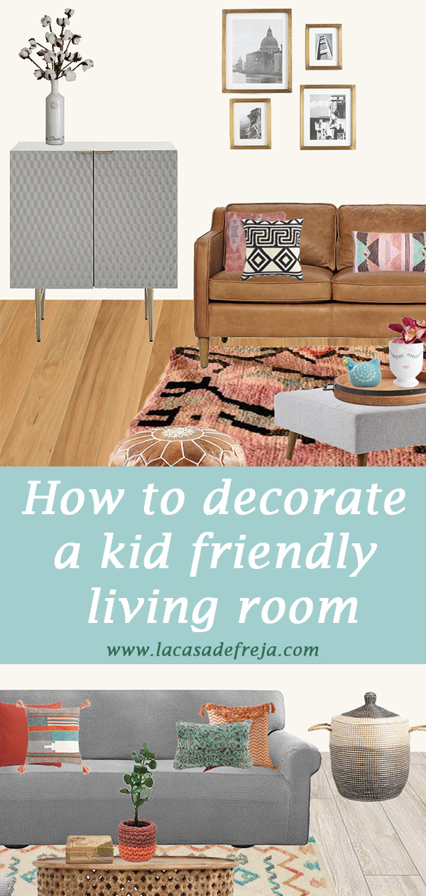How to decorate a kid friendly living room