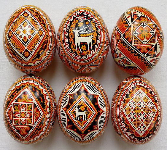 Easter eggs with so much art and tradition 04