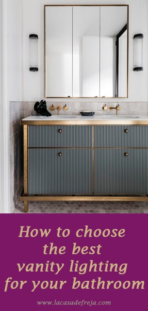 How to choose the best vanity lighting for your bathroom 10