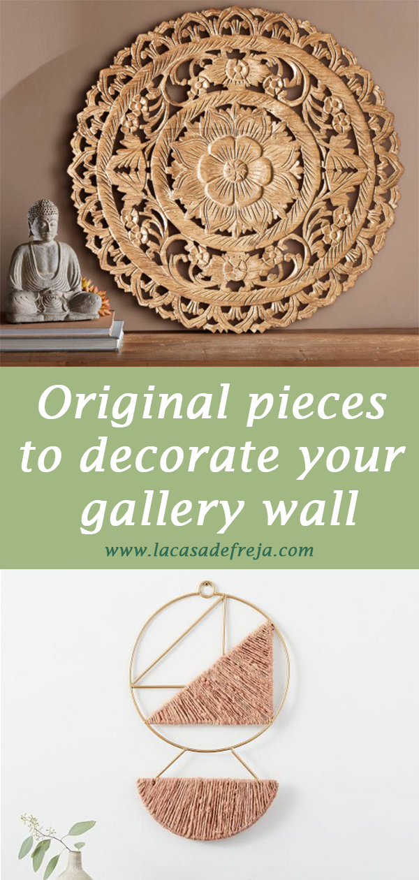 Original pieces to decorate your gallery wall 00