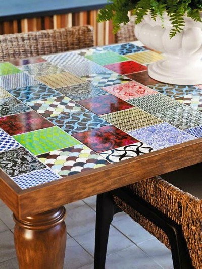 Tables and boho tiles Do they combine in a decoration 01