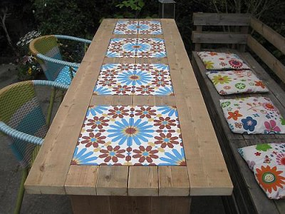 Tables and boho tiles Do they combine in a decoration 06