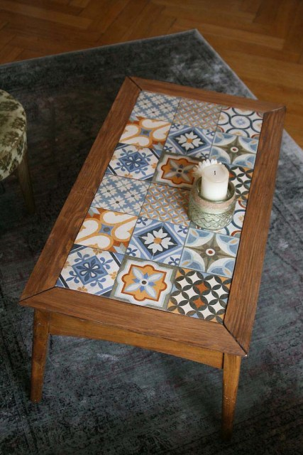 Tables and boho tiles Do they combine in a decoration 10