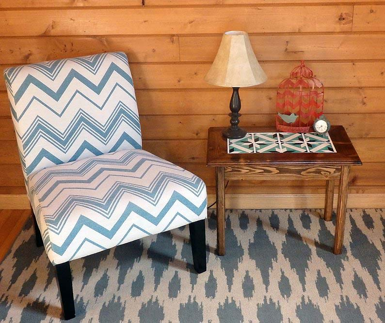 Tables and boho tiles Do they combine in a decoration 13