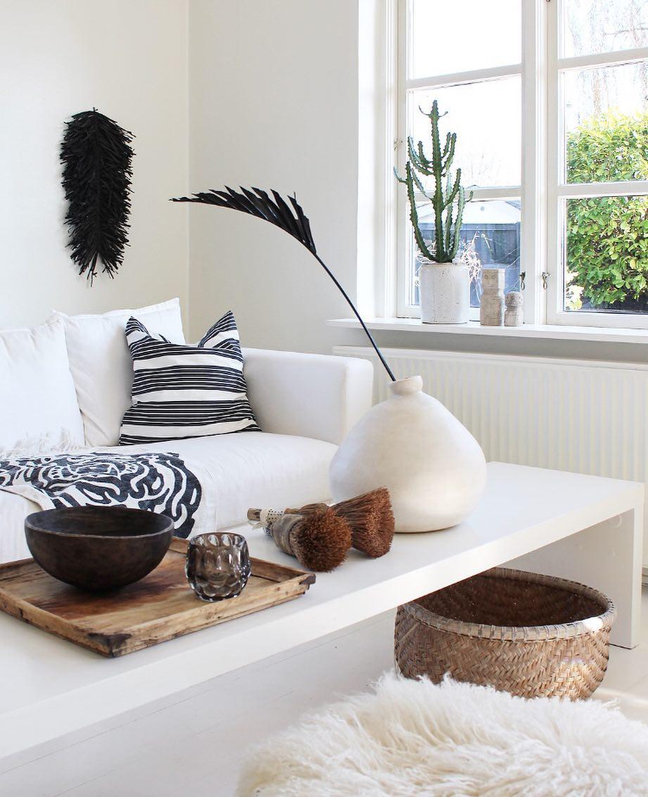 sofa table boho style home 02