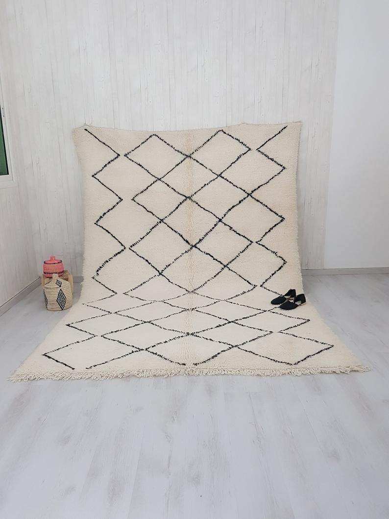 Let yourself be captivated by the Beni Ouarain rugs 02