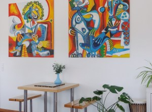 Choose the best lighting for your paintings or gallery wall 00