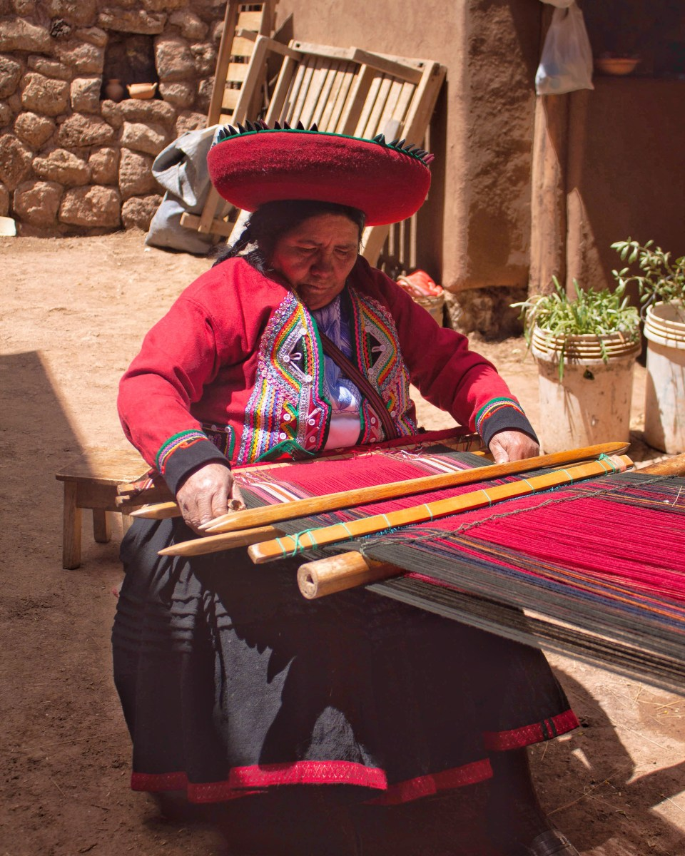 Cultural heritage and textiles in Chinchero Cusco 01