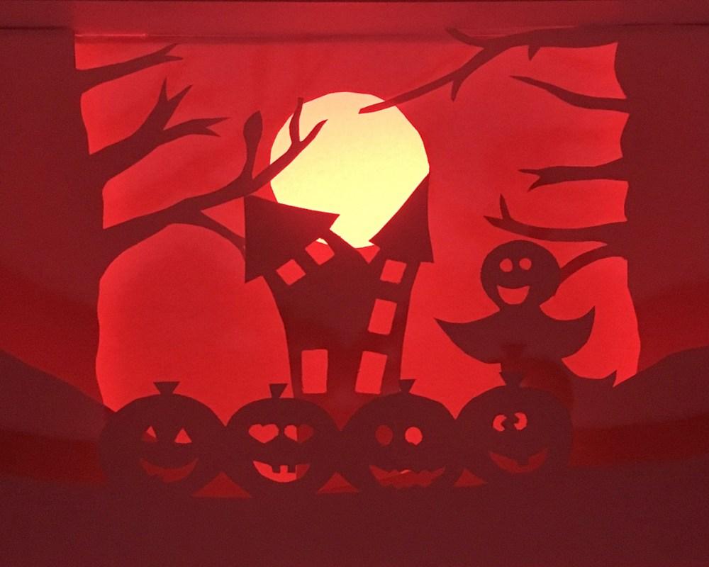 Halloween light, shadow and color 02