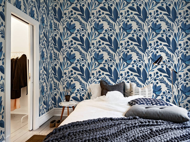 Latest trends in wallpaper in 2019 risky combinations 10