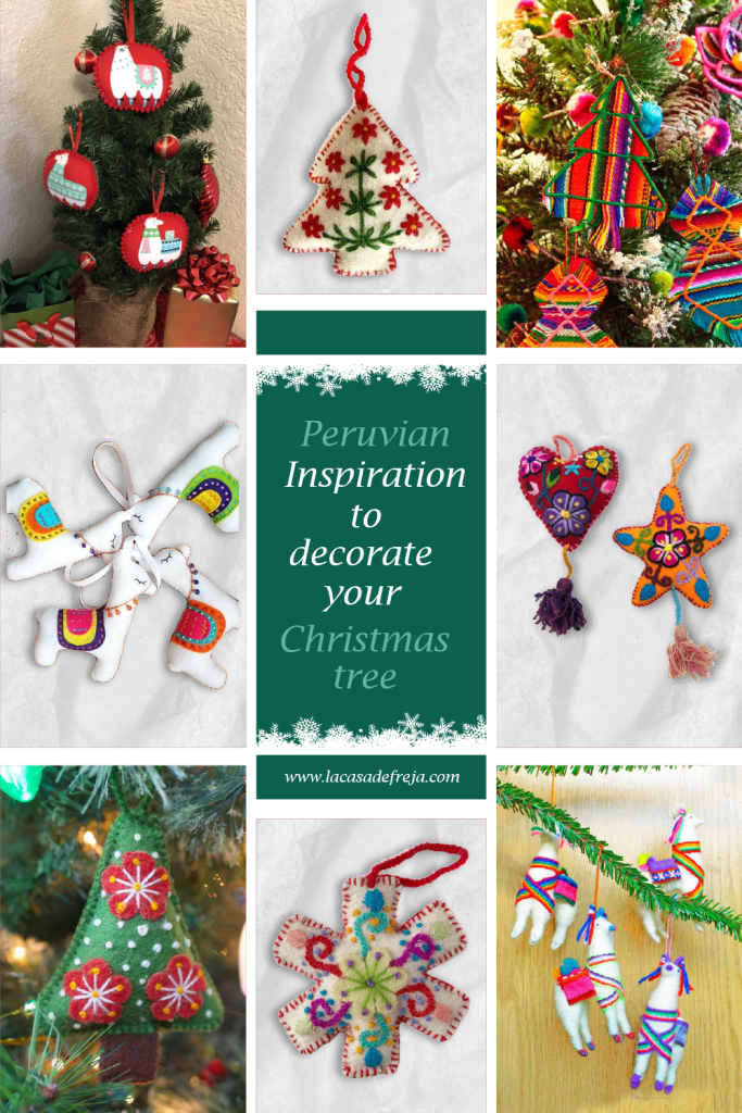 Peruvian inspiration to decorate your Christmas tree 00