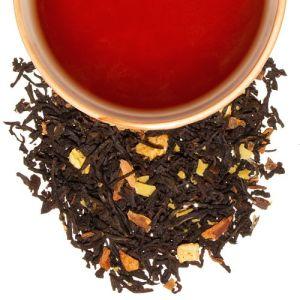 té negro con manzana canela vainilla almendra